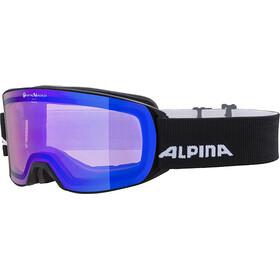 Alpina Alpina Nakiska QVM Goggles, black matt